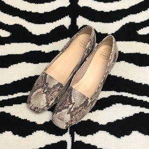 Circa Joan & David Snake Print Loafer